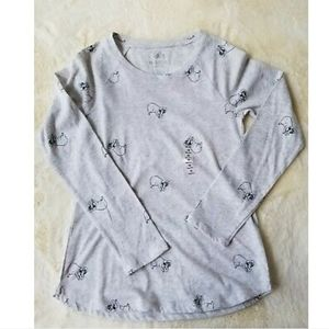 ❌SOLD❌•JUSTICE• gray top